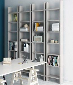 Step – Mood 5, Libreria dal design essenziale