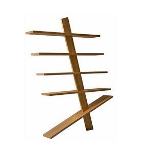 Supergi� 6299/F, Libreria autoportante in legno massello
