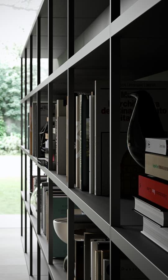 WALLBOX, Mensole moderne, struttura elementare e funzionale