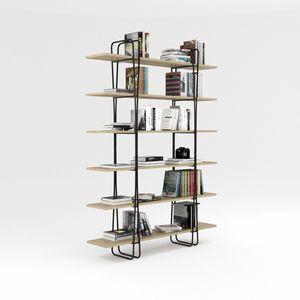 Ypsilon, Libreria con struttura in ferro