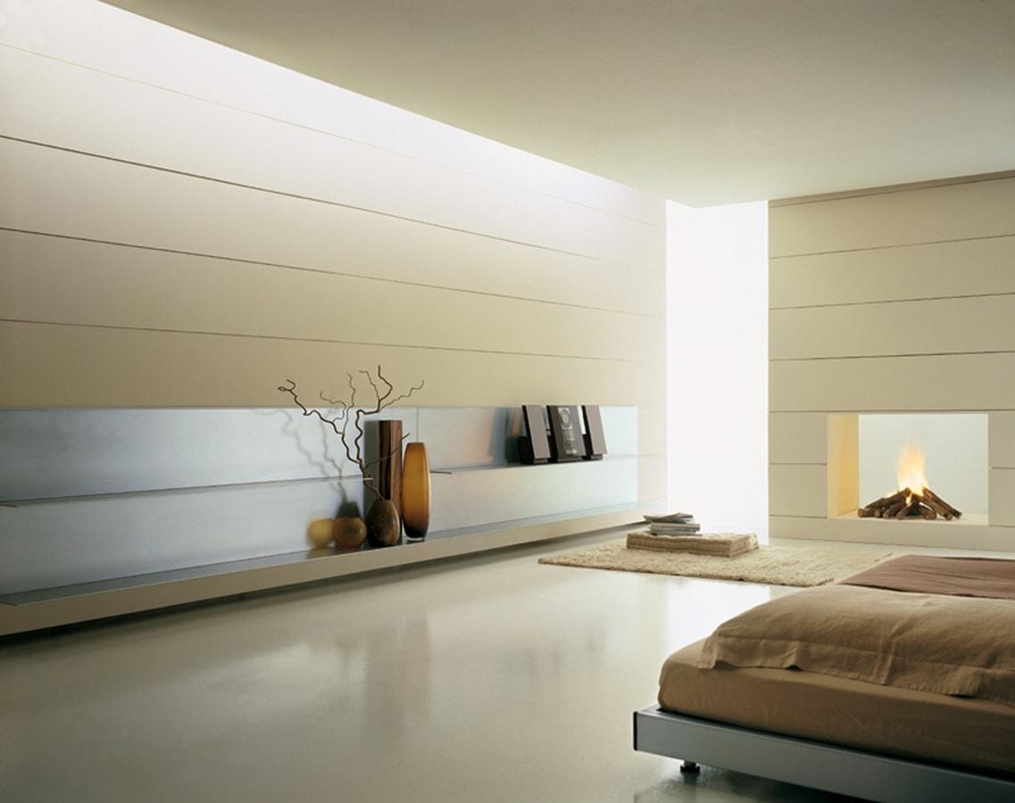 ALL comp.05, Mensole moderne in alluminio, spessore sottile, robuste