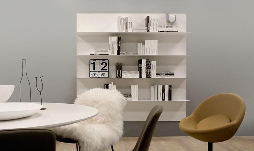 ALL comp.09, Mensola per salotto, in alluminio, in stile semplice