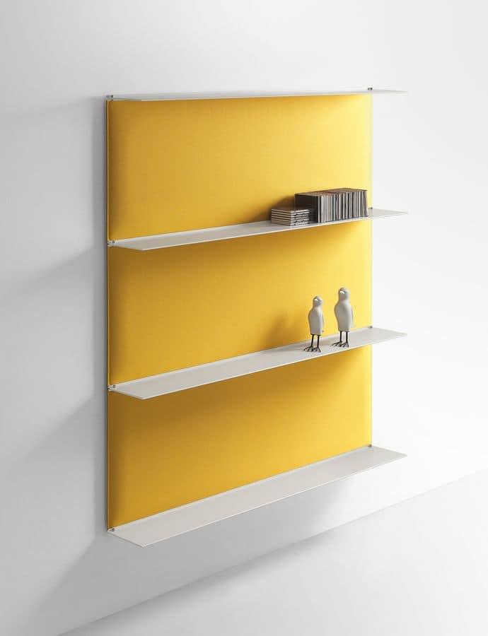 Sistema di mensole componibili con pannelli - Accessori per ufficio design ...
