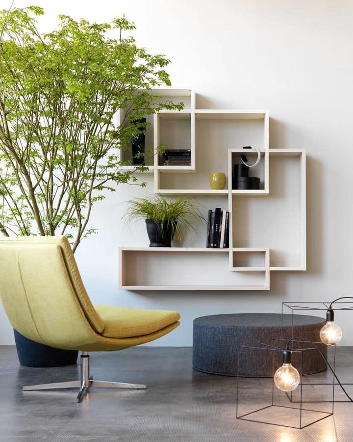 Mensole arredamento moderno foto di soggiorno in stile in for Foto arredamento moderno