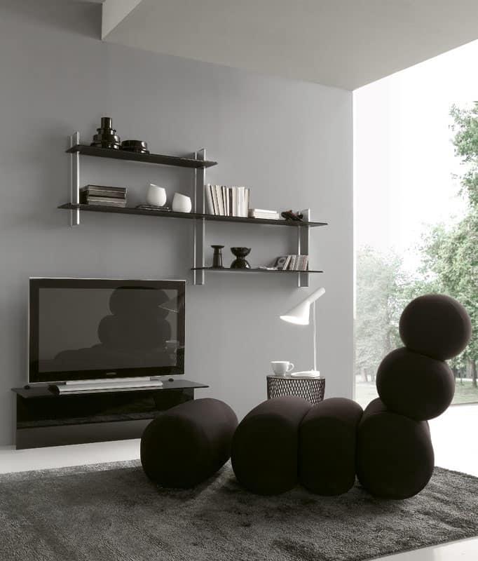 Top Mensola design per salotti moderni | IDFdesign CC58