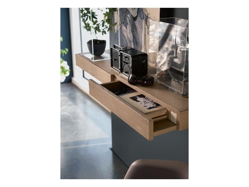FG 909/G mensola ZANZIBAR con cassetti , - IDFdesign