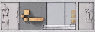 Trealcubo comp.03, Sistema modulare per arredo