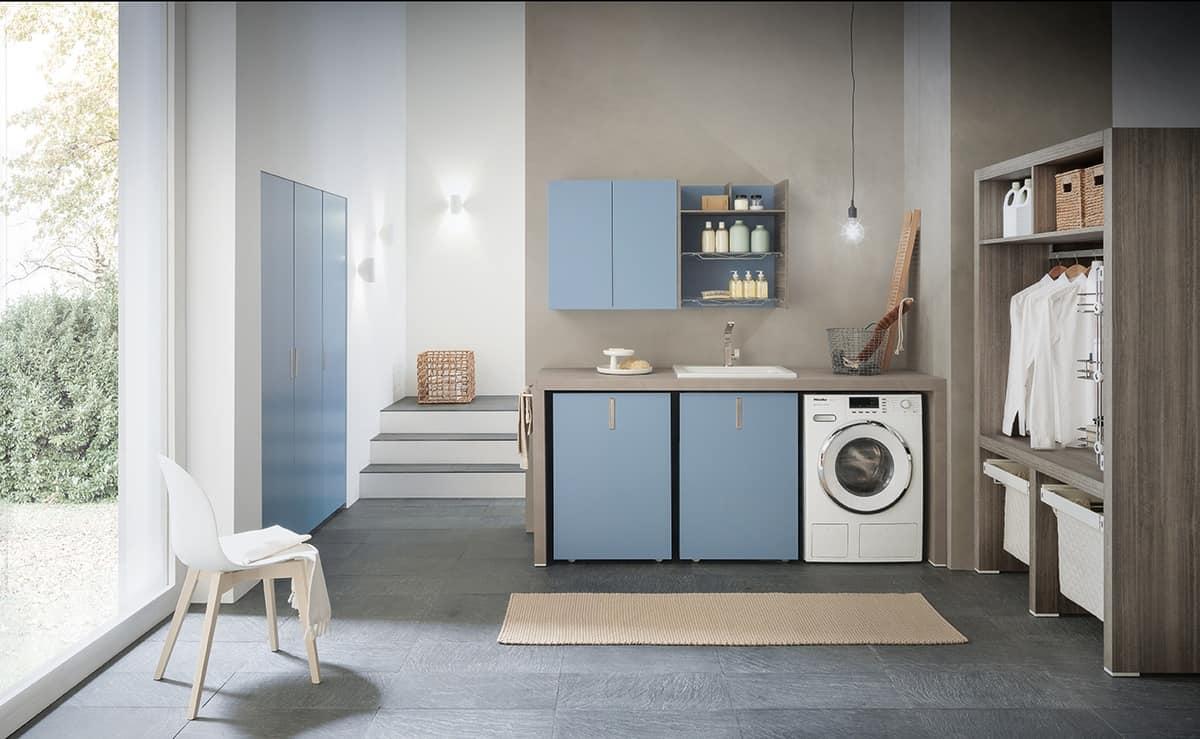 Mobili componibili per lavanderia idfdesign