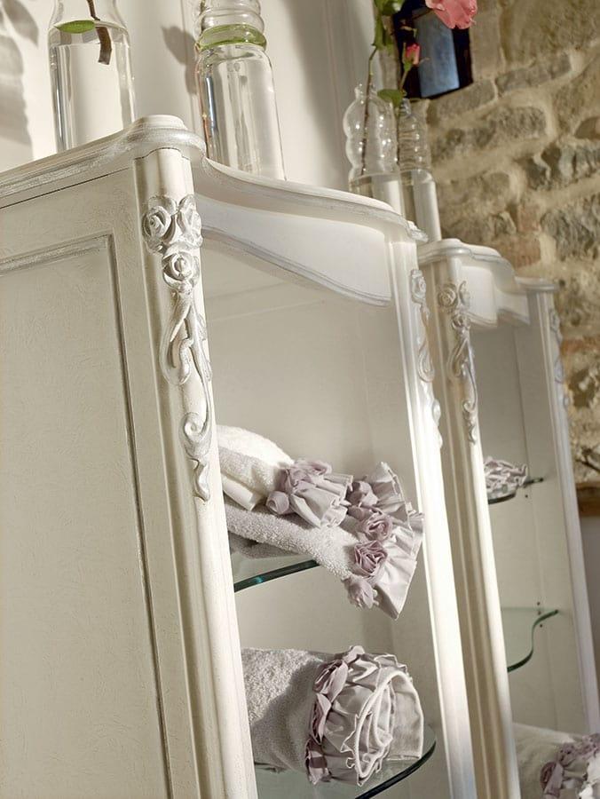 Carpi mobili bagno, Mobile da bagno in stile classico, con due lavabi