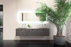 Kube 05, Mobile da bagno in vero marmo