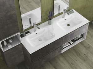Torana TR 022, Mobile da bagno con due lavabi
