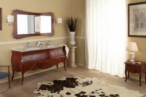 VANITY DUETTO 02, Mobile bagno con doppio lavabo