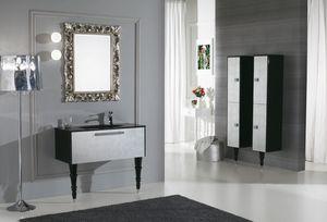 DEC� D11, Mobile lavabo laccato con cassetti