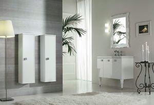 DEC� D12, Mobile lavabo laccato con ante