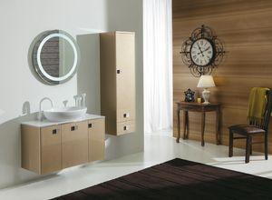 DEC� D13, Mobile lavabo laccato con ante