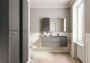 Dressy comp.01, Mobile da bagno, con stile tradizionale