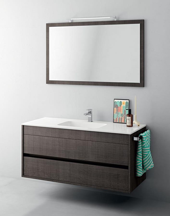 Mobile bagno piccole dimensioni con specchiera idfdesign for Arredo bagno piccole dimensioni
