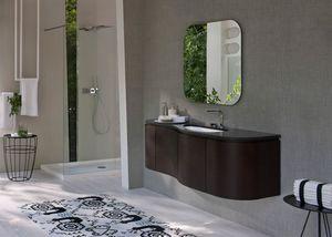 My seventy plus comp.12, Mobile da bagno, con ripiano in marmo