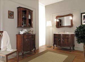 NARCISO 05, Mobile lavabo in legno