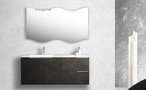 Singoli S 30, Mobile da bagno con lavabo integrato