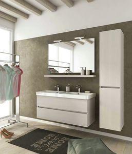 SOHO S15, Mobile lavabo sospeso con cassetti