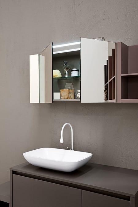 Mobile bagno con lavabo d\'appoggio | IDFdesign