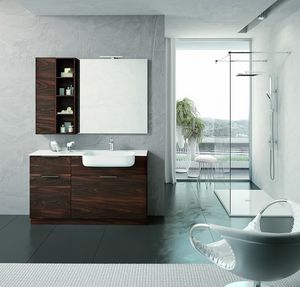 BLUES BL-07, Arredo completo bagno moderno