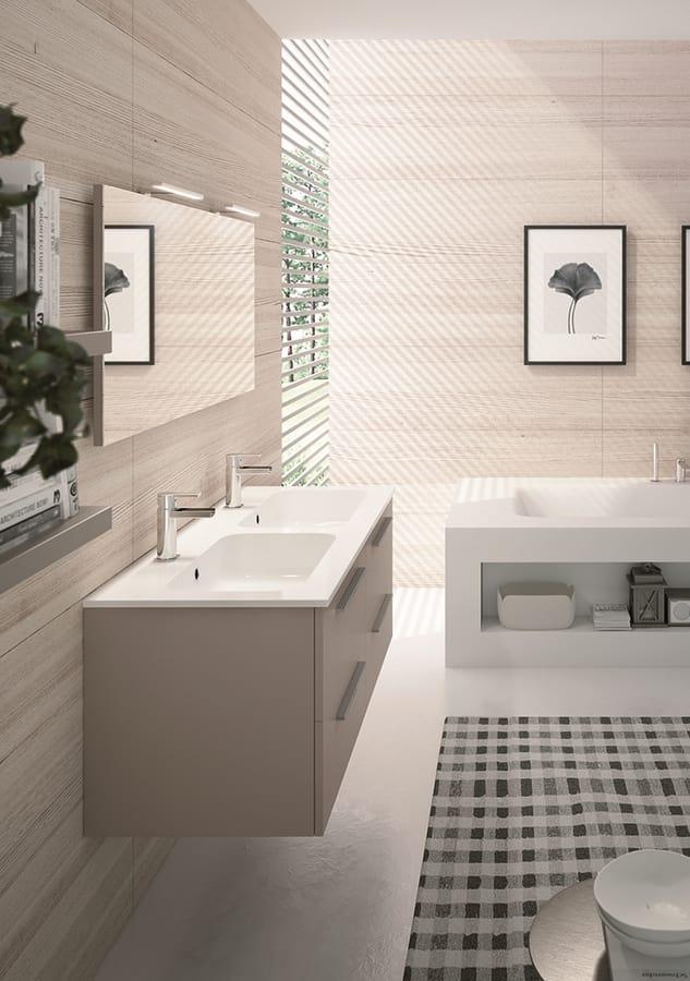 Mobile bagno con 2 lavabi idfdesign - Mobile bagno con 2 lavabi ...