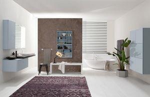 Byte 2.0 comp.07, Mobile bagno componibili in stile moderno