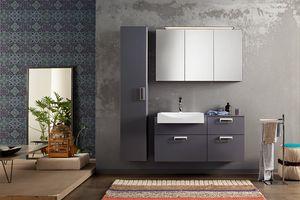 Byte 2.0 comp.09, Composizione di mobili bagno con colonna