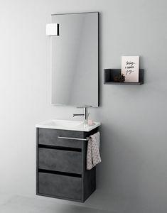 Mobile bagno salvaspazio con cassetti | IDFdesign