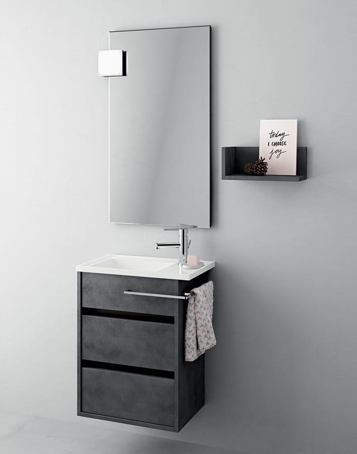 Mobile da bagno salvaspazio stile moderno idfdesign for Mobile bagno salvaspazio