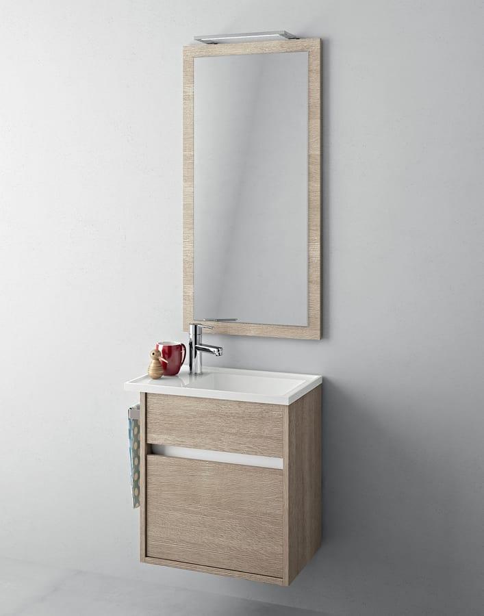 Lavabo Bagno Con Mobile Piccolo.Mobile Bagno Con Piccolo Lavabo E Specchiera Idfdesign