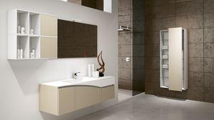 FLY 03, Soluzione d'arredo per bagno moderno