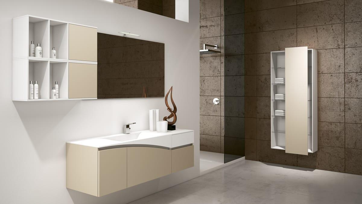 Soluzione d 39 arredo per bagno moderno idfdesign for Negozi di bagni