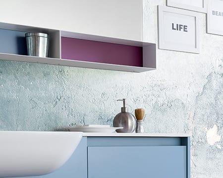 Kami comp.03, Mobile bagno con dimensioni personalizzabili