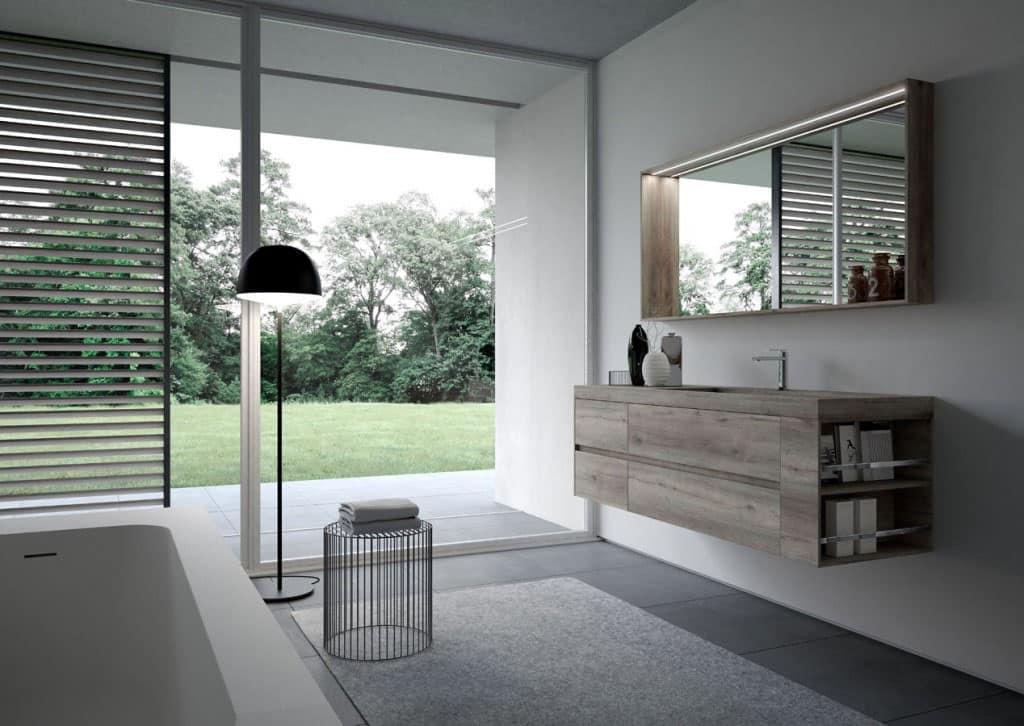 Esempi di bagni moderni esempi di bagno moderno consolle da bagno