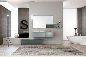 Tender comp.02, Composizione di mobili bagno in stile moderno