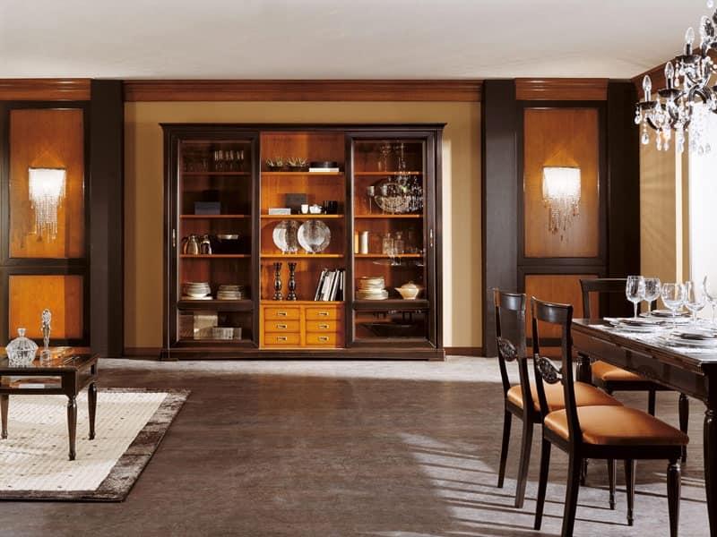 Mobili librerie classiche ed in stile in stile e classiche - Mobili porta tv classici ...