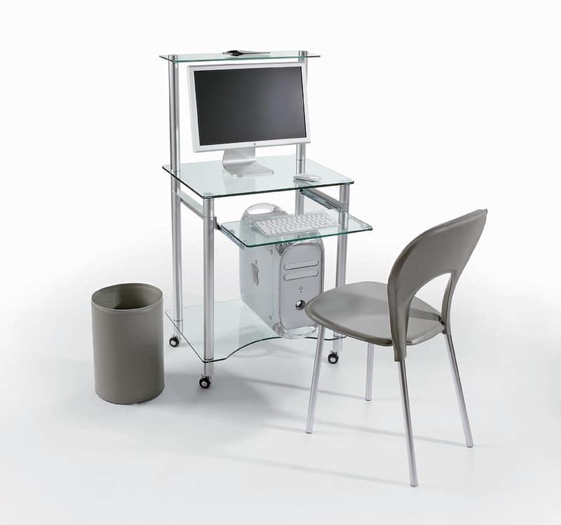 Mobili mobili ufficio porta computer idfdesign for Mobili computer