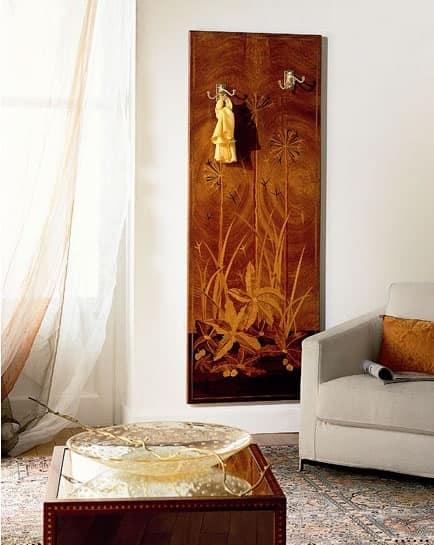 Appendiabiti classico di lusso in legno da parete - Carpanelli mobili ...