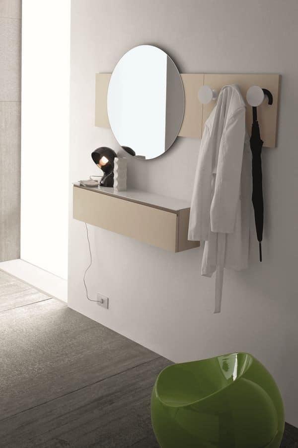 Mobili mobili ingresso idf - Cassettiera a specchio mercatone uno ...