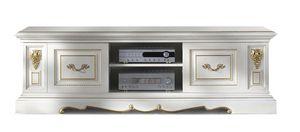 1464V2, Porta Tv basso classico in legno