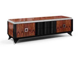 Art. 3004, Mobile porta tv classico con cassetti e ante