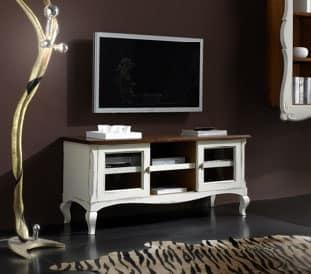 Porta TV per soggiorni in stile provenzale | IDFdesign