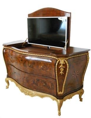 Mobile in legno mobile art co 0002 - Mobili per televisore ...