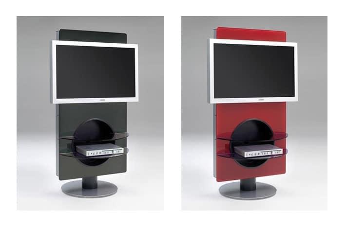 Porta tv girevole con ripiani | IDFdesign