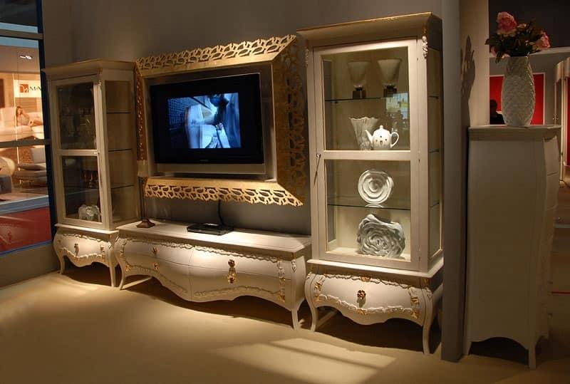 Mobili porta tv classici ed in stile classico - Porta televisore classico ...