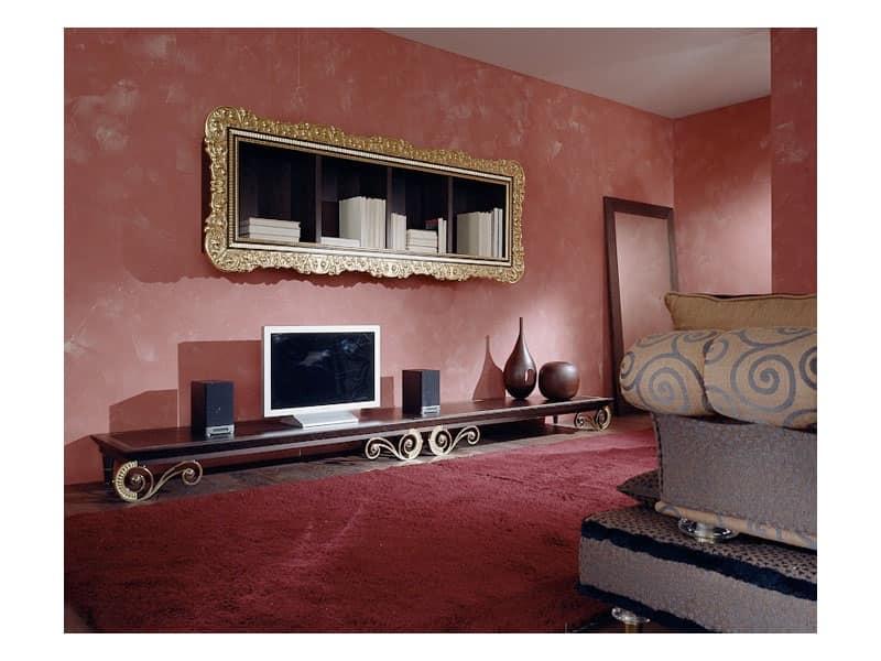 Panca rokko mobili classici zona giorno idfdesign - Mobili tv classici ...