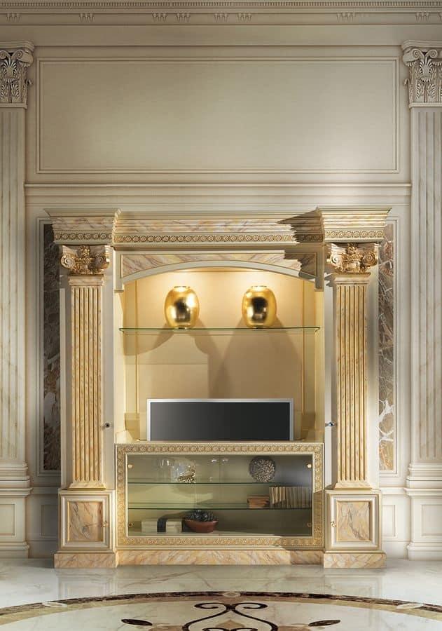 Mobile porta TV classico di lusso | IDFdesign